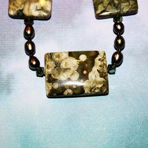 Chlorastrolite Necklace